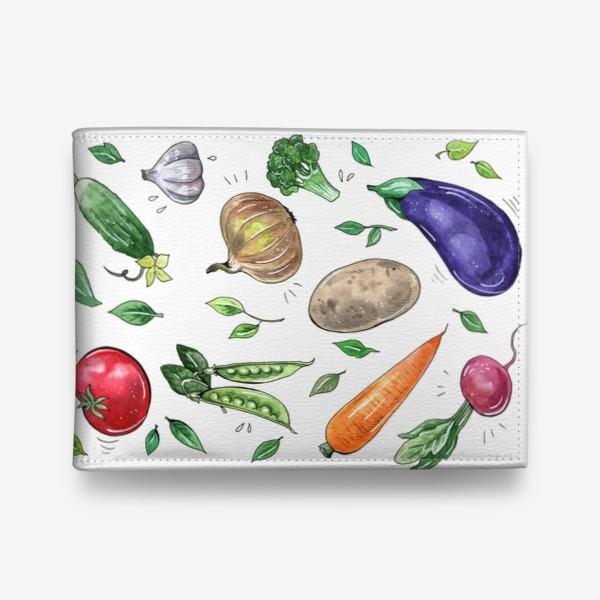 Кошелек «Овощи - вкусная и здоровая пища»