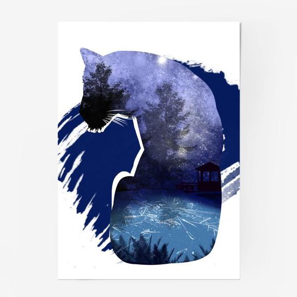 Постер «Тигр в ночи »