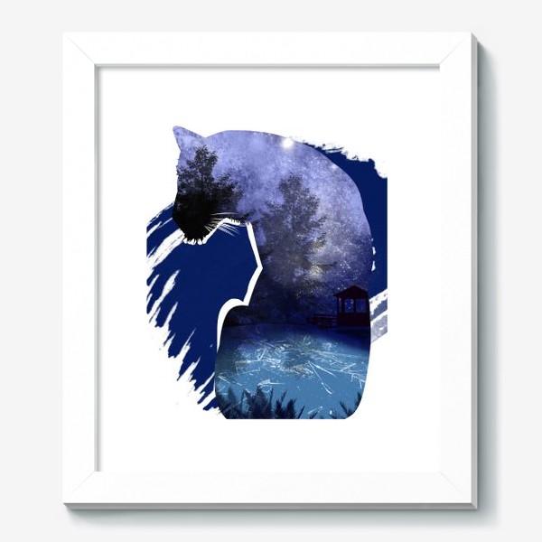 Картина «Тигр в ночи »