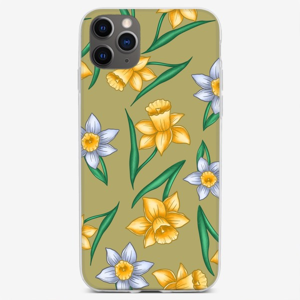 Чехол iPhone «Нарциссы»