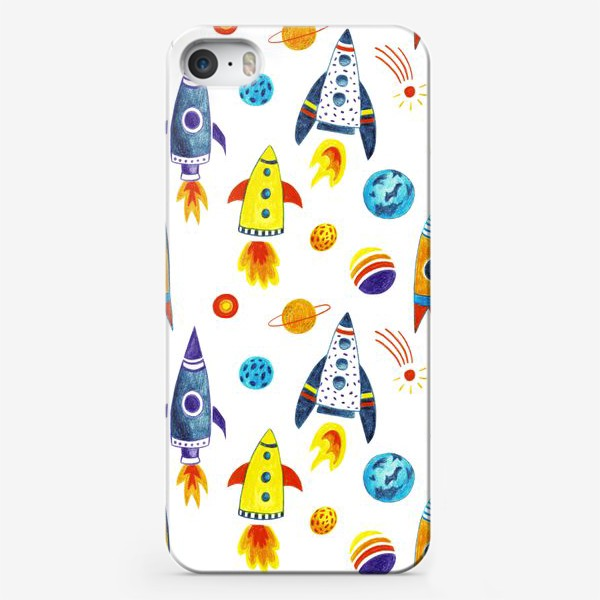 Чехол iPhone «День космонавтики»