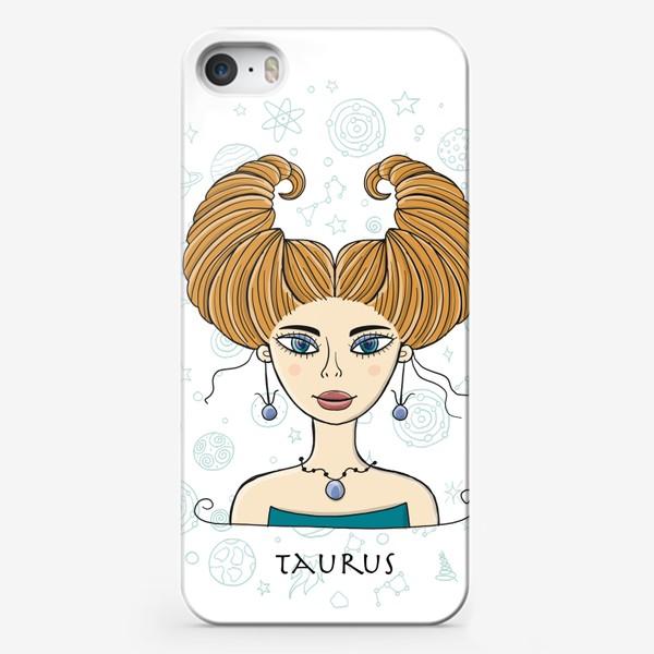 Чехол iPhone «Taurus Zodiac Girl»