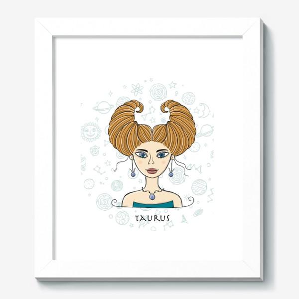 Картина «Taurus Zodiac Girl»