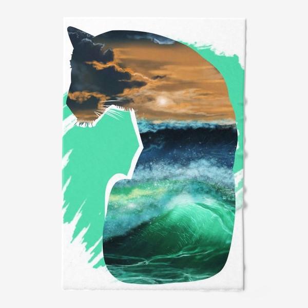 Полотенце «Тигр и море»