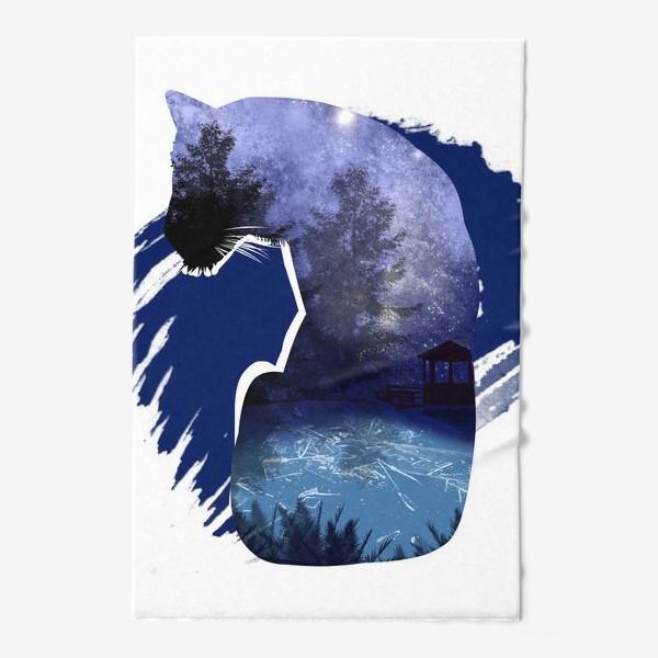 Полотенце «Тигр в ночи »