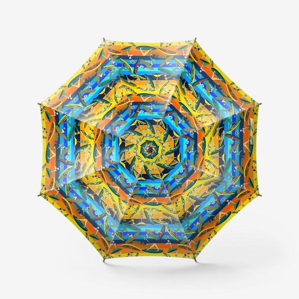 Зонт «Сап-йога, паттерн»