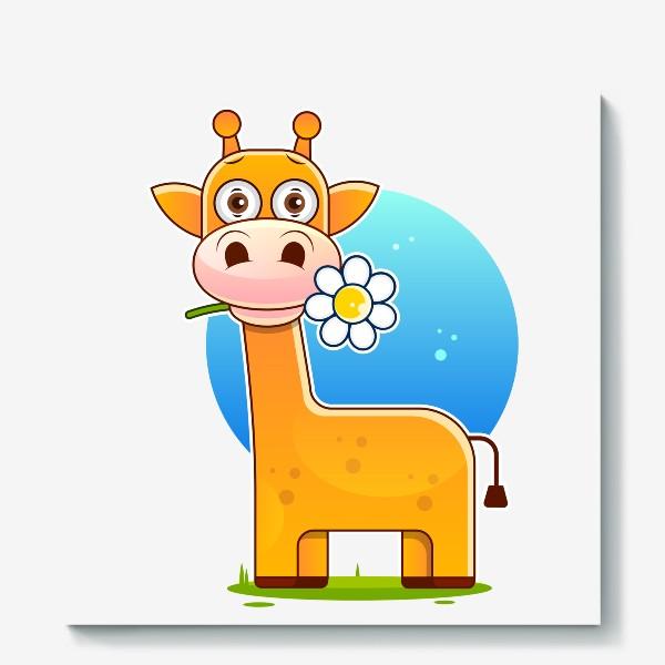 Холст «giraffe »