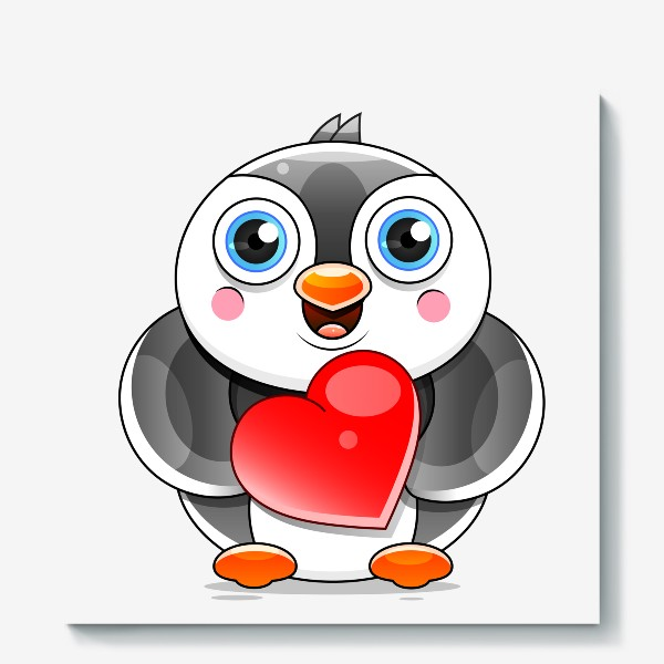 Холст «Penguin »