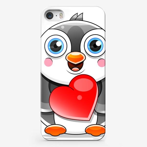 Чехол iPhone «Penguin »