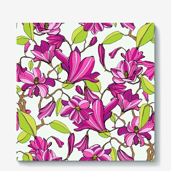 Холст «Spring magnolia»