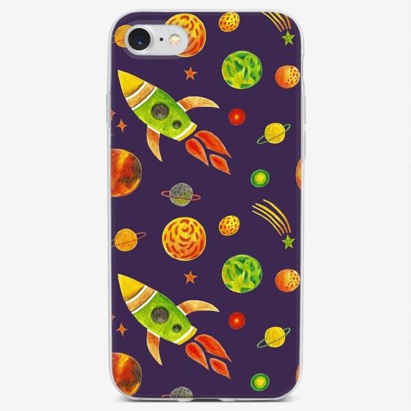 Чехол iPhone «Планеты и звезды»