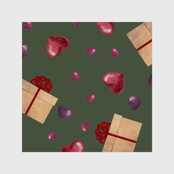 Шторы «паттерн подарочки»