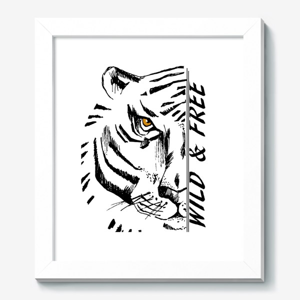 Картина «Тигр Wild and free»