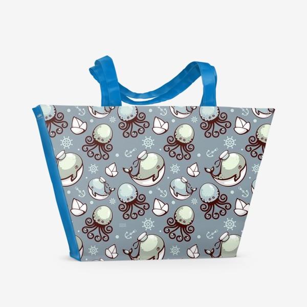 Пляжная сумка «Sea pattern»