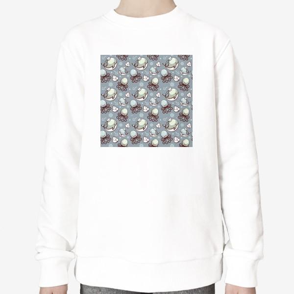 Свитшот «Sea pattern»