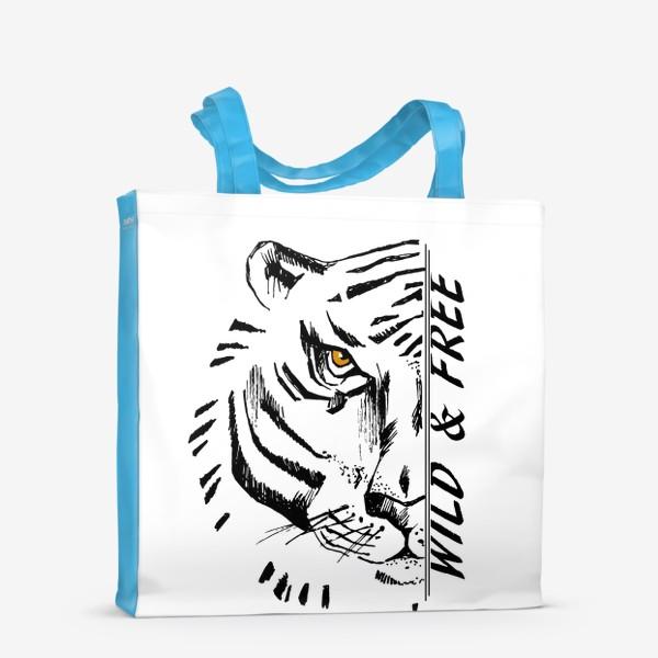 Сумка-шоппер «Тигр Wild and free»