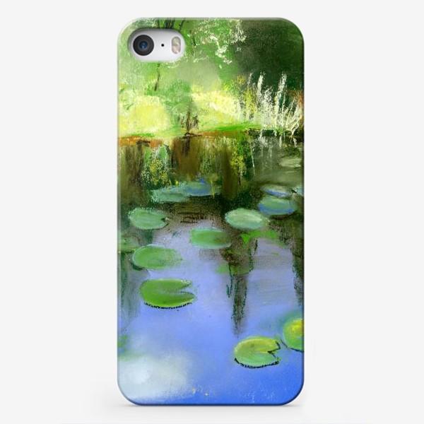 Чехол iPhone «Отражение в пруду»