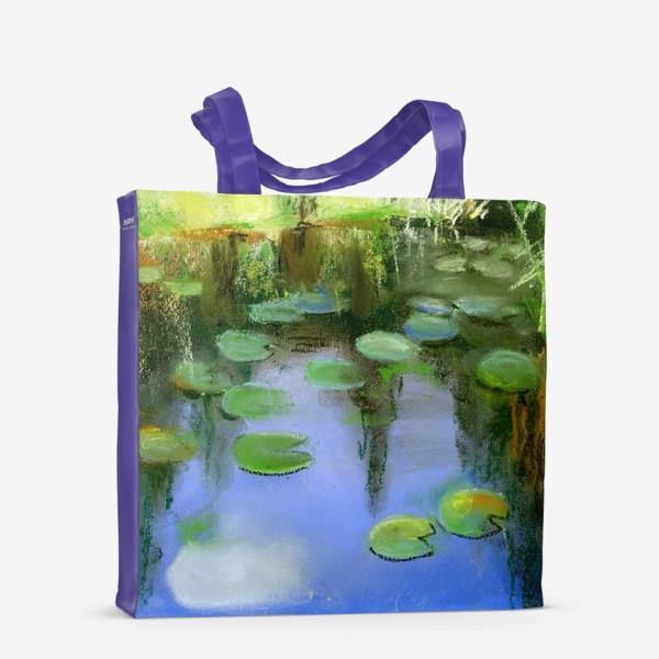 Сумка-шоппер «Отражение в пруду»