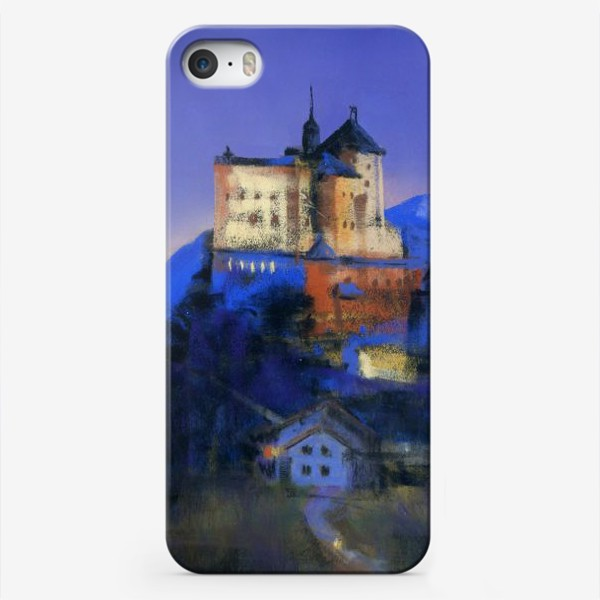 Чехол iPhone «Замок Тарасп. Ночь»
