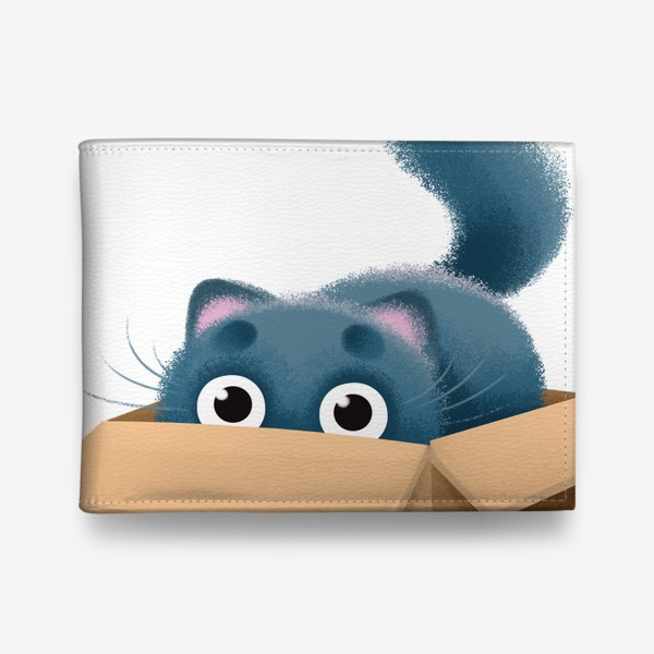 Кошелек «кот в коробке»