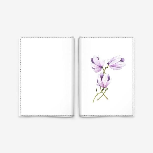Обложка для паспорта «розовая нежность»
