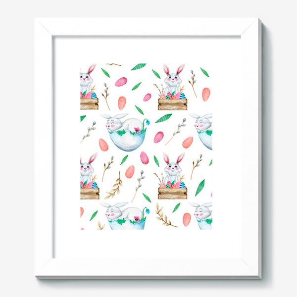 Картина «Пасхальные кролики»