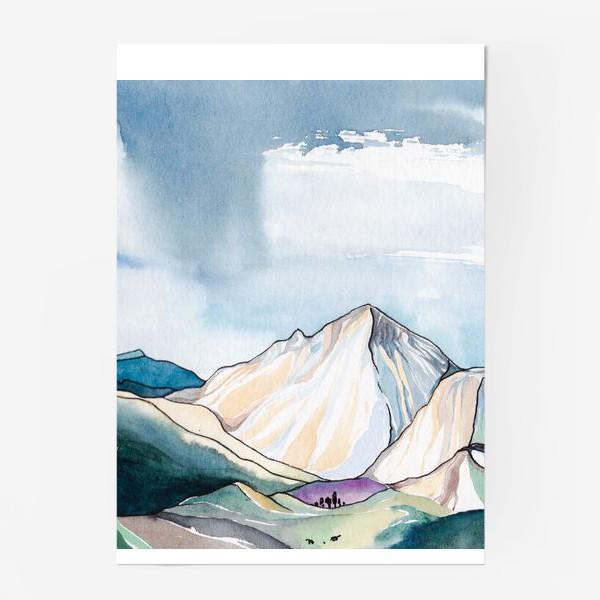 Постер «Горы»