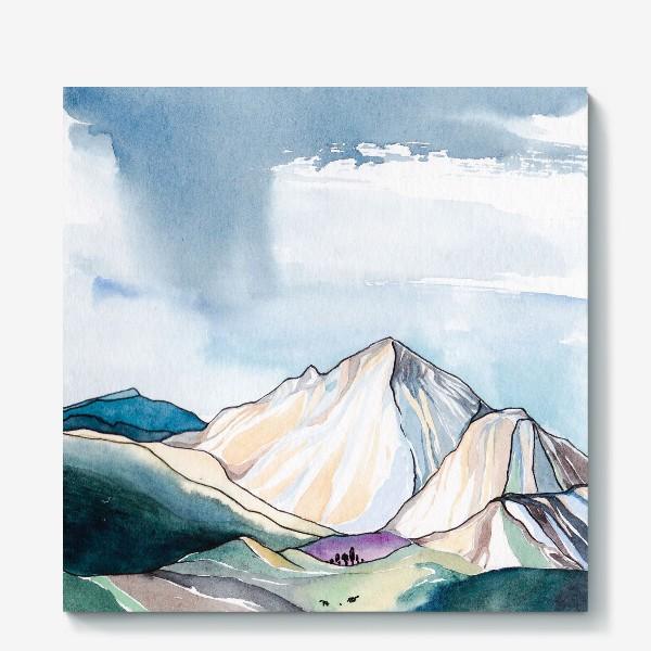 Холст «Горы»