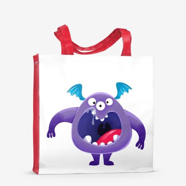 Сумка-шоппер «монстр крикун»
