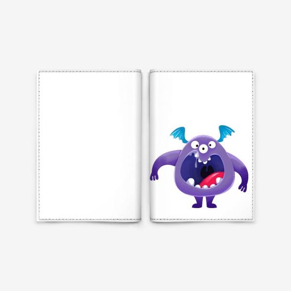 Обложка для паспорта «монстр крикун»