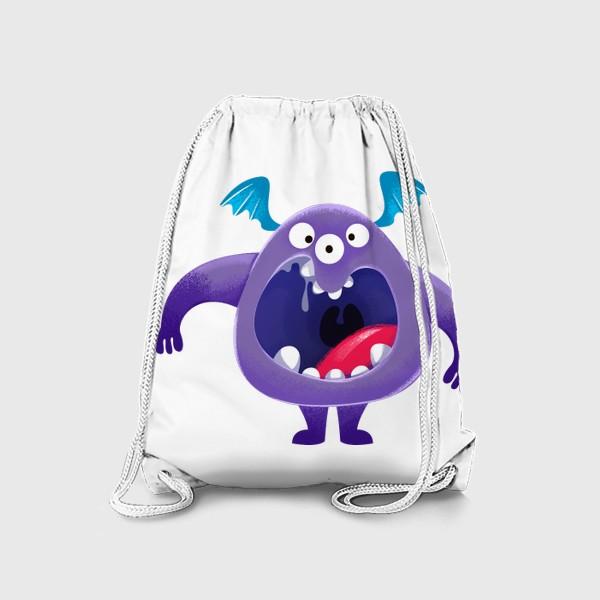 Рюкзак «монстр крикун»