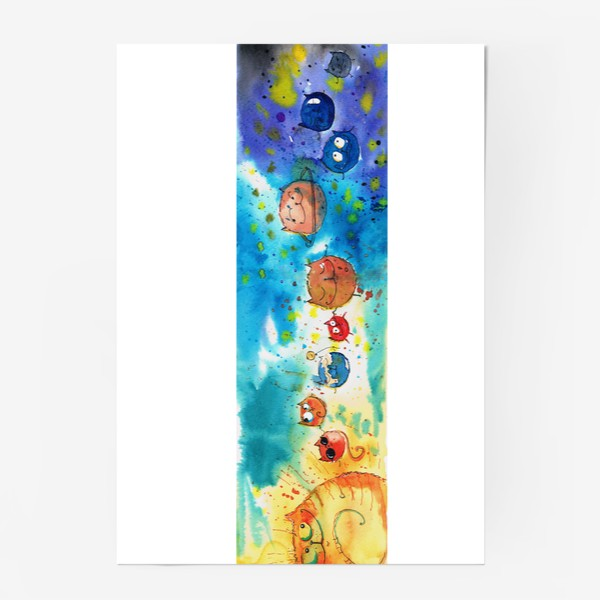 Постер «Кошачья Галактика »
