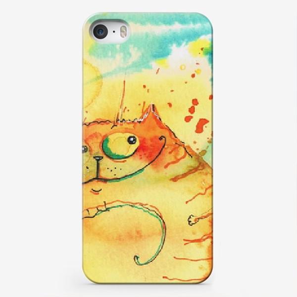 Чехол iPhone «Кошачья Галактика »