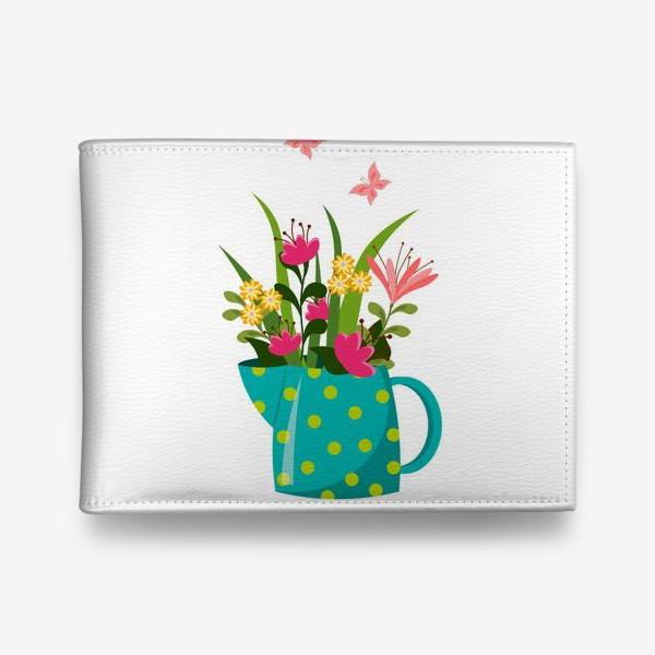 Кошелек «Кувшин с цветами»