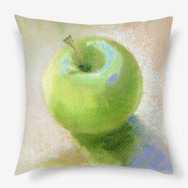 Подушка «Яблоко зеленое Гренни смит»