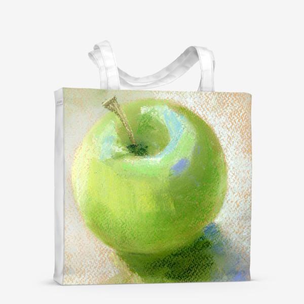 Сумка-шоппер «Яблоко зеленое Гренни смит»