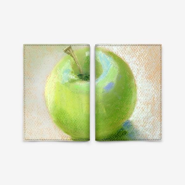 Обложка для паспорта «Яблоко зеленое Гренни смит»