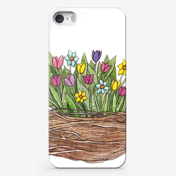 Чехол iPhone «Весенний букет»