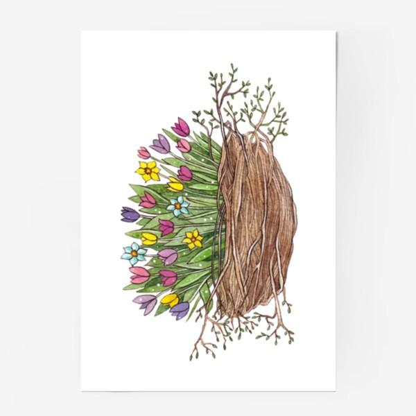 Постер «Весенний букет»