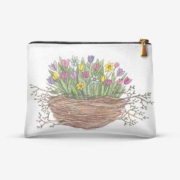 Косметичка «Весенний букет»