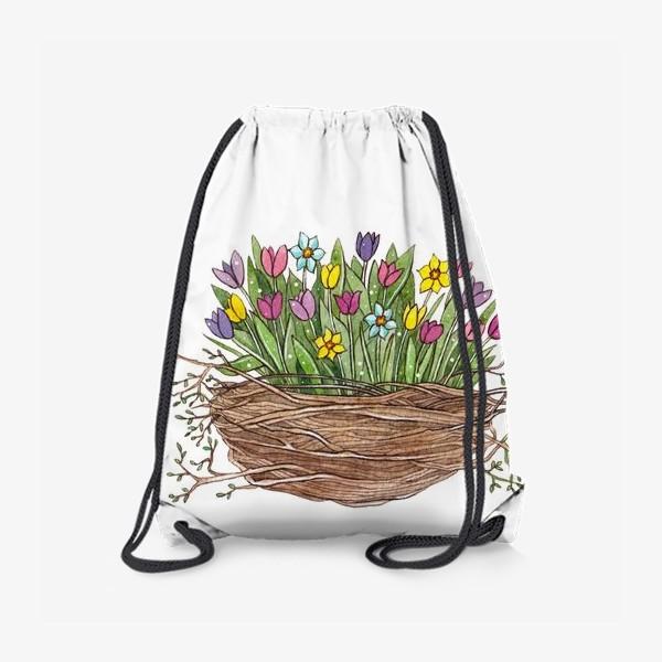 Рюкзак «Весенний букет»