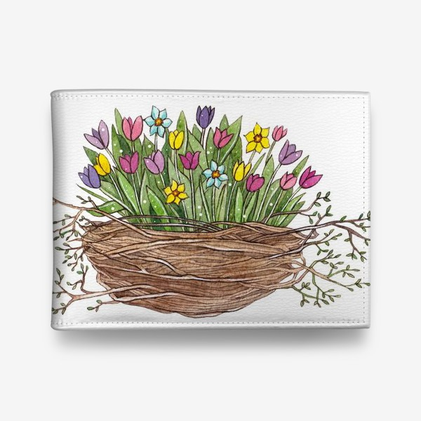 Кошелек «Весенний букет»