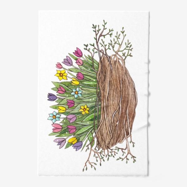 Полотенце «Весенний букет»