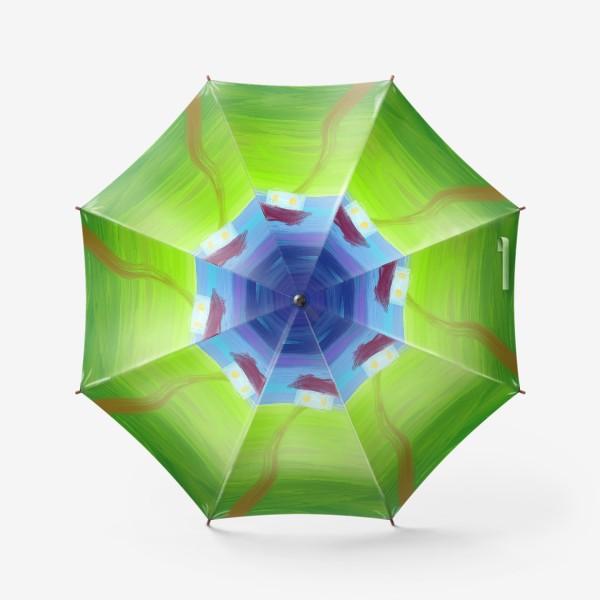 Зонт «Дом вдали»