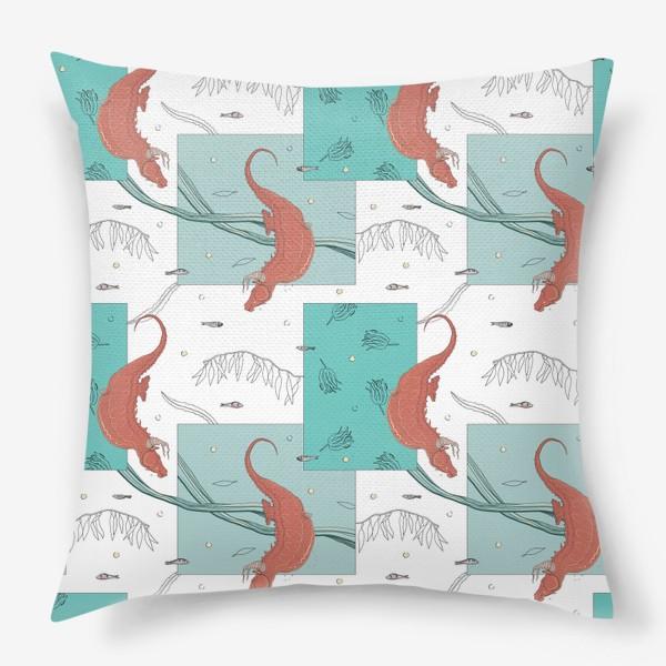Подушка «Seahorses1»