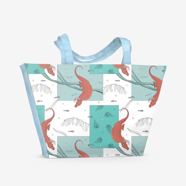 Пляжная сумка «Seahorses1»