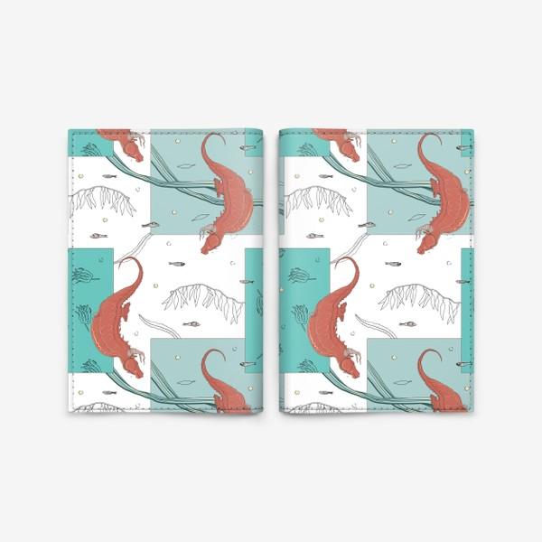 Обложка для паспорта «Seahorses1»