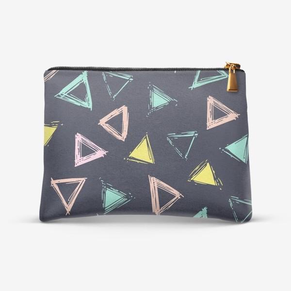 Косметичка «Цветные треугольники»