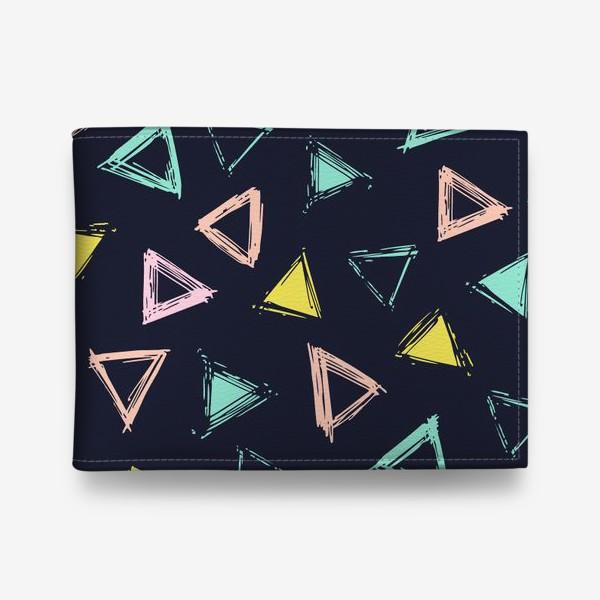 Кошелек «Цветные треугольники»