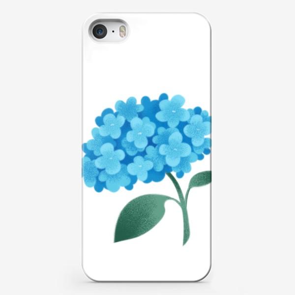 Чехол iPhone «Цветок плюмбаго»